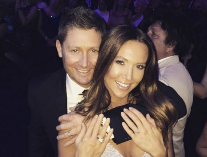 yly and michael clarke glam insta