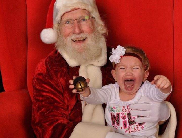 Santa disaster