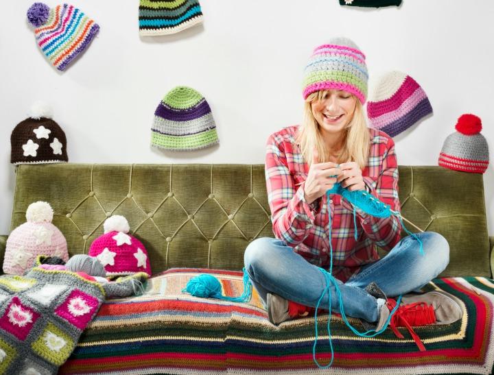 Knitting addiction.
