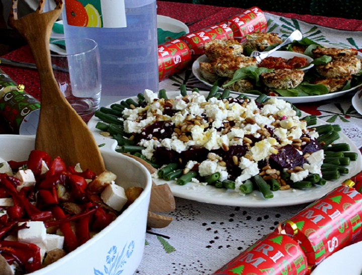 Christmas lunch featured