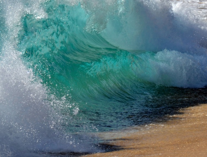 wave crashing via istock feat