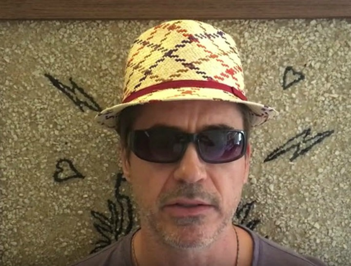 Robert Downey jr from makeawish video allowed permission feat