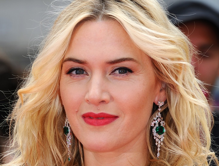 "LONDON, ENGLAND - MARCH 30:  Kate Winslet attends the European premiere of ""Divergent"" at Odeon Leicester Square on March 30, 2014 in London, England.  (Photo by Anthony Harvey/Getty Images)"