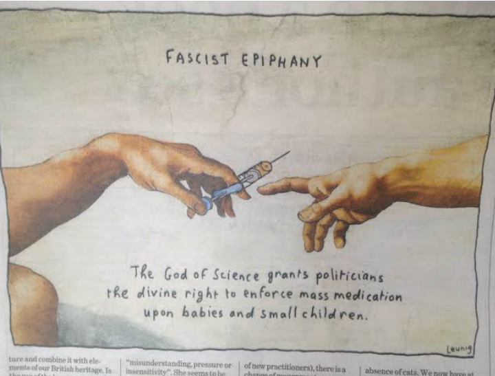 The cartoon, as published in The Age today.