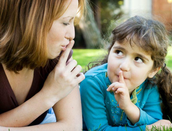keeping secrets from kids